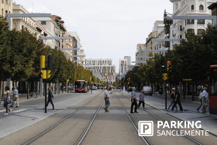 Lugares emblemáticos en el centro de Zaragoza