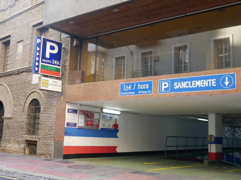 Por qué hacer uso de un parking en el centro de Zaragoza